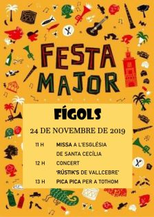 FESTA MAJOR DE FÍGOLS 2019